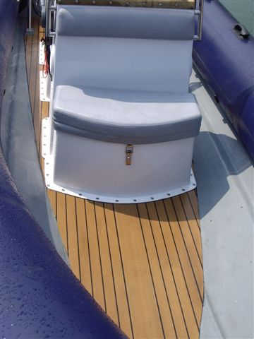 RIB with Dek-King Synthetic Teak