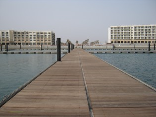 View large version of image: Walcon completes marina for Asian Beach Games 2010
