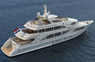 View large version of image: Diana Yacht Design newest design D-150