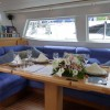 Sailing Yacht Concerto's Main Salon Dining Area