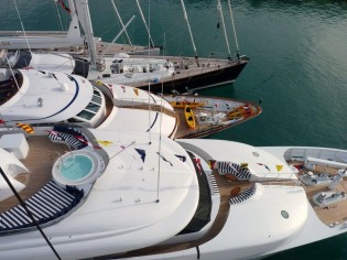 View large version of image: Northrop and Johnson Yacht Charters Reports on the 49th Antigua Yacht Charter Show