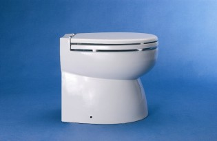 View large version of image: Electric toilet Hydro vacuum 3012