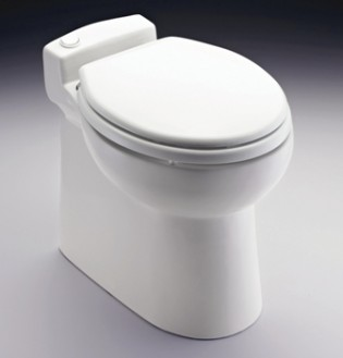 View large version of image: Masterflush 8819 electric toilet