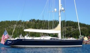 View large version of image: Yacht Charter; Virago, 100' Nautor Swan Sailing Yacht wins 2011 St. Barths Bucket