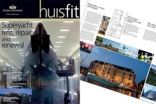 View large version of image: Huisfit Refit - Royal Huisman has launched 'Huisfit' for Superyacht refit