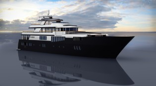 View large version of image: 525 MY Natural Evolution Yacht Concept