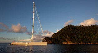 View large version of image: Sailing yacht Zefira by Fitzroy Yachts wins 'Oscars' of the superyacht world