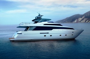 View large version of image: The new Sanlorenzo SL94 motor yacht series