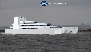 View large version of image: Yacht concept XXI unveiled by SVDesign