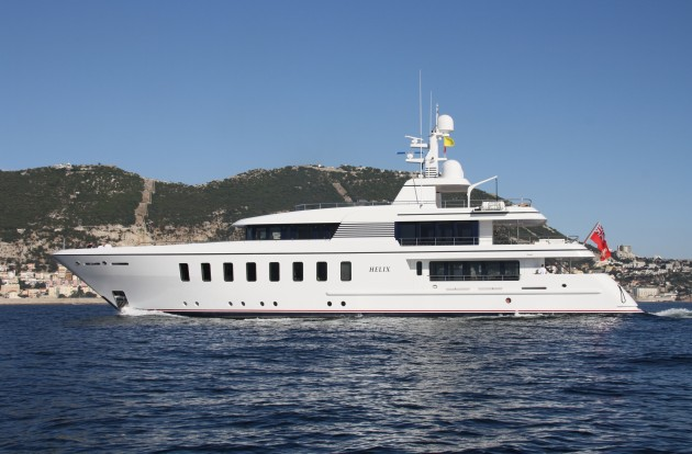 View large version of image: Superyacht Helix