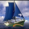 Rainbow Warrior III superyacht launched by Greenpeace