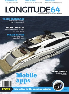 View large version of image: London based web and media agency Latitude 26 announces the release of a web based Yacht Brokerage Solution