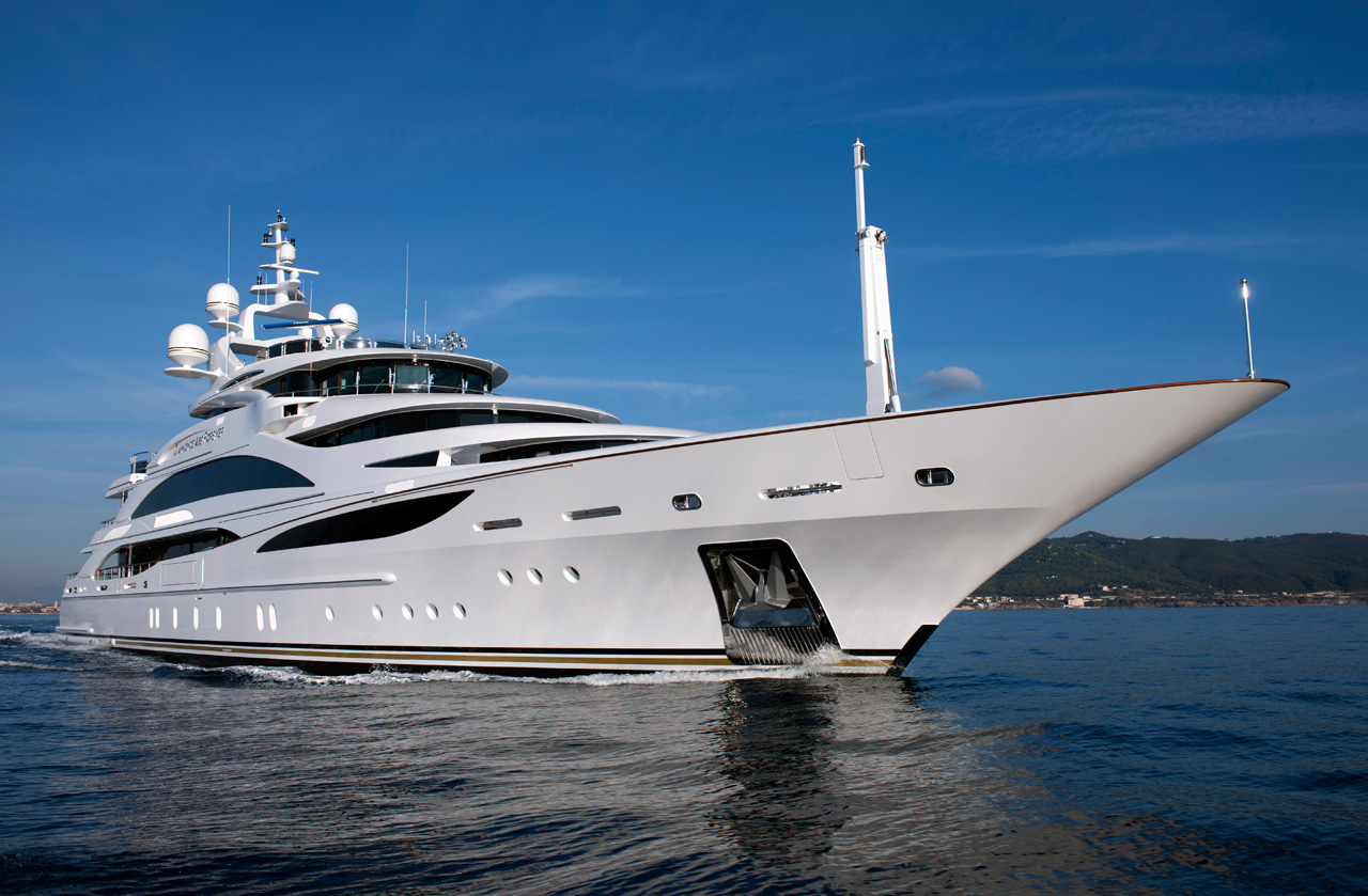 Benetti FB253 60mt is the yacht's official identification, but for her owner ...