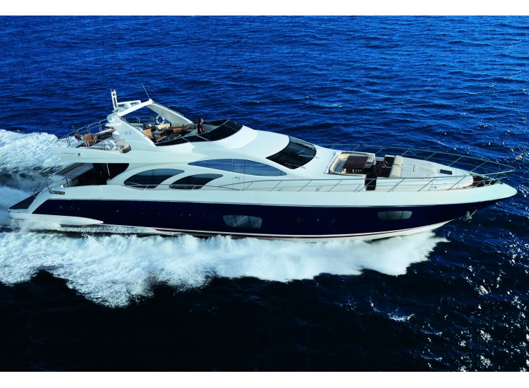 Since 1984 Azimut yachts are sold in China through Hong Kong Dealer Simpson ...