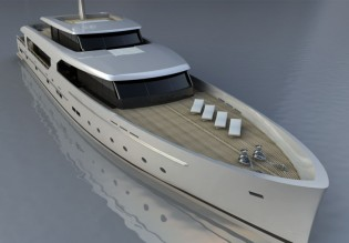 View large version of image: 45m BSD147 LOGICA Superyacht sold