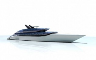 View large version of image: Steve Job's luxury Feadship superyacht