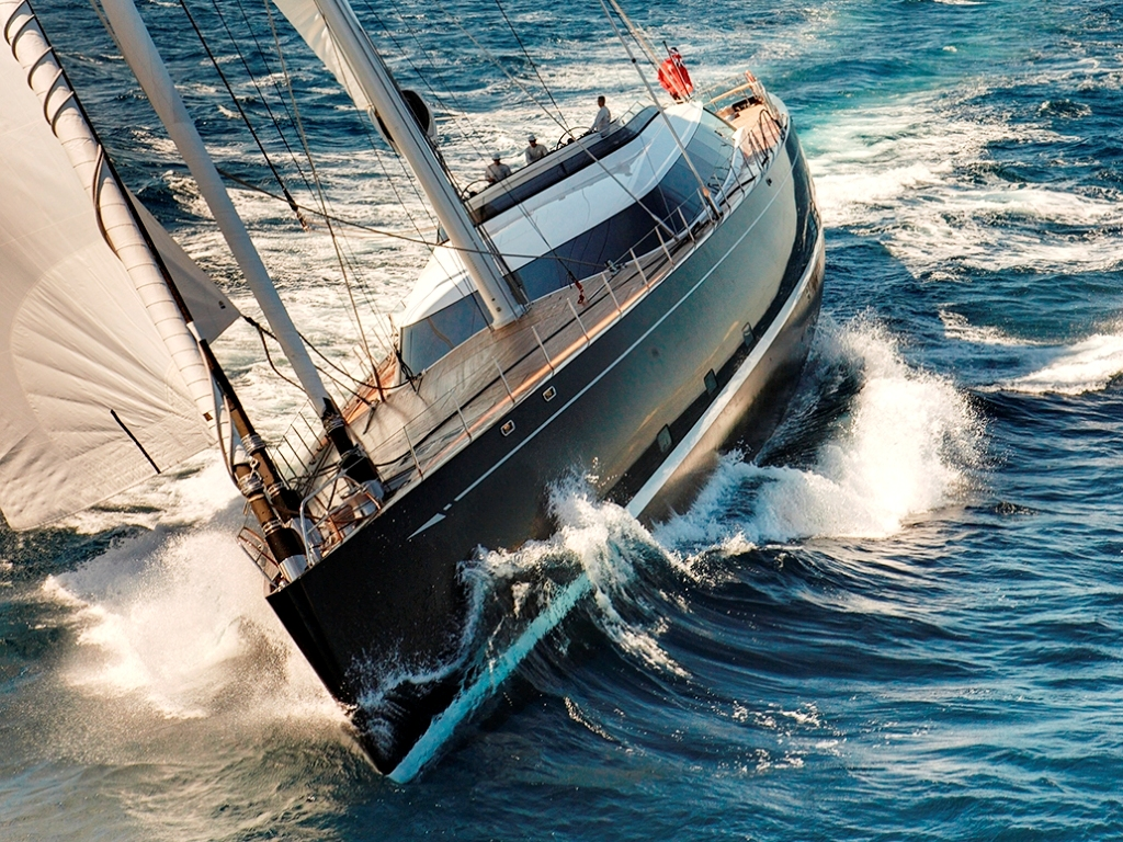 View Large Version Of Image Award Winning Sailing Yacht KOKOMO III Available For Caribbean