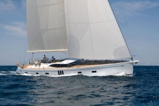 View large version of image: The new sailing yacht Oyster 825 by Oyster Yachts