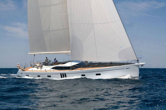 View large version of image: The new sailing yacht Oyster 825 by Oyster ...