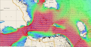 View large version of image: Tidetech new oceanographic data in major ship-routing trial