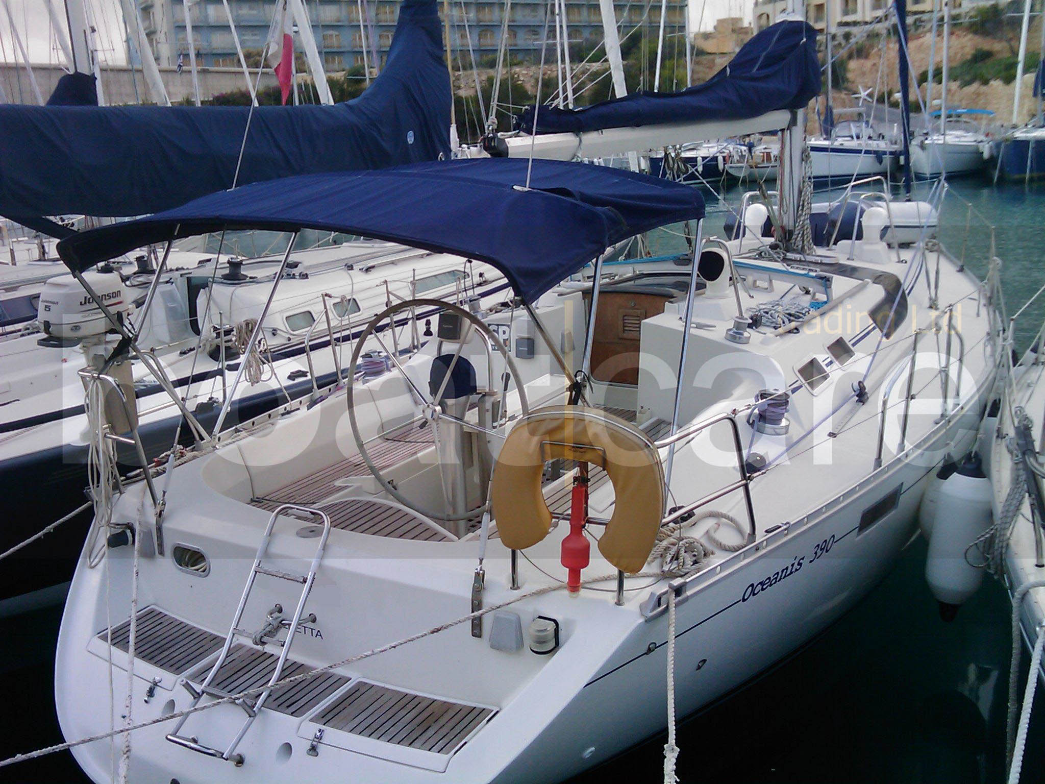 View large version of image: Beneteau Oceanis 390. Used. Builder: Beneteau