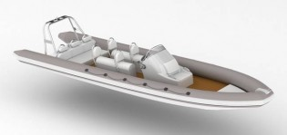 View large version of image: NEW SEMI CUSTOM RIB ORDERED FOR 42M SAN LORENZO
