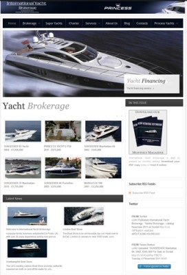 View large version of image: New version of International Yacht Brokerage's web site launched