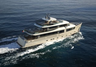 View large version of image: 115´ cruiser yacht Nauta Air by Cantiere delle Marche