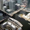 A Super Yacht Hotel for Canary Wharf - 170m luxury yacht Aquiva