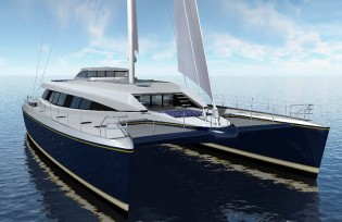 View large version of image: Yachting Developments 30m super yacht Q5 (hull YD66) due to be launched in 2012