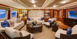 View large version of image: 43m Calliope, recently launched with a Rhoades Young Design interior