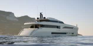 View large version of image: 45m motor yacht Wider 150