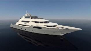 View large version of image: 50m Evolution Yacht Concept by Trinity Yachts