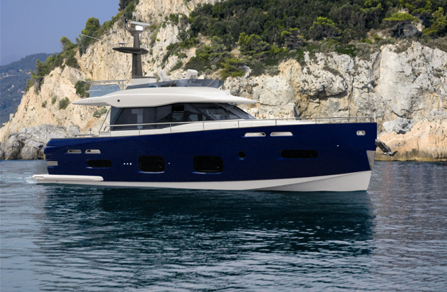 AZIMUT motor yacht Magellano 50 and Yachtique were officially selected for ...