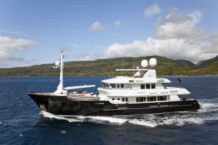 View large version of image: Popular charter yacht Surprise renamed KOI, available for charter in the Caribbean