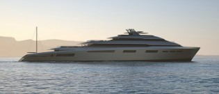 View large version of image: New 99m Motor Yacht XVINTAGE by Fincantieri