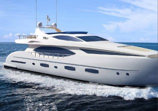 View large version of image: IAG 100 Electra Superyacht launched