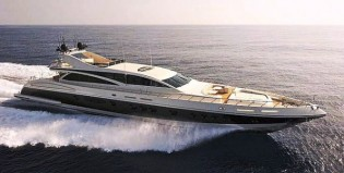 View large version of image: The 43m Leopard Yacht Makira is New to the Luxury Yacht Charter Market