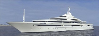 View large version of image: H2 designed Motor Yacht Project 120