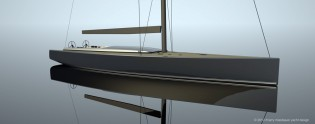 View large version of image: 27m sailing yacht Maxi Dolphin MD90 designed by Harry Miesbauer