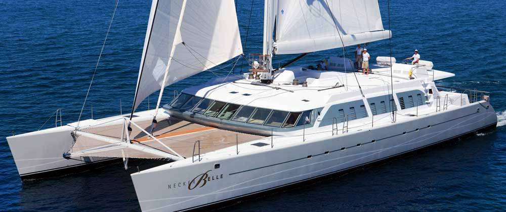 View Large Version Of Image Stunning 32m Luxury Catamaran NECKER BELLE Now Available For Caribbean