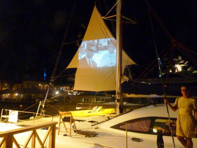 Image: 47′ Catamran NEMO on display at the 2011 Antigua Charter Yacht Show