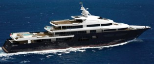View large version of image: New KaiserWerft 75m motor yacht Kaiser-75