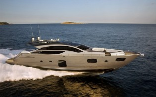 View large version of image: New motor yacht Pershing 82 to be launched in 2012
