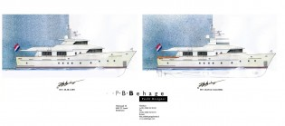 View large version of image: New 28.28 Convertible Yacht Concept by P.B. Behage