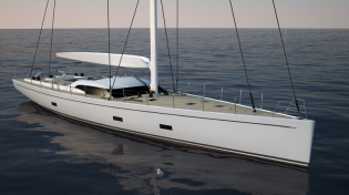 View large version of image: Two new sailing yachts SW 102 DS by Southern Wind