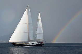 View large version of image: Ron Holland designed sailing yacht Kestrel 106 launched in Turkey