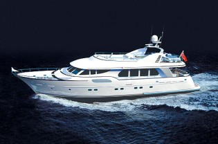 View large version of image: Timmerman´s 26.40m motor yacht Atlantic completed