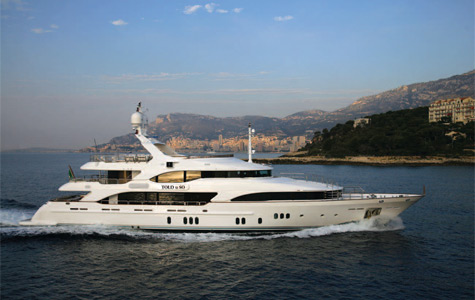 View large version of image: Benetti Motor Yacht Told U So for charter in ...