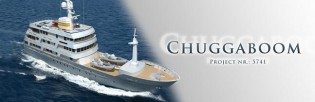 View large version of image: 54m motor yacht Chuggaboom by Vripack